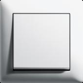 Gira Standard 55, čistě bílá, matná