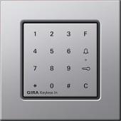 E22 Keyless In kódovací klávesnice, hliník