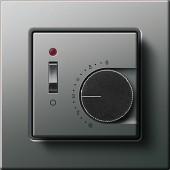 E22 analogový termostat, nerez
