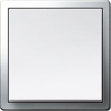 Gira F100 bílá lesklá, chrom