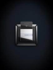 Gira ClassiX chrom černá