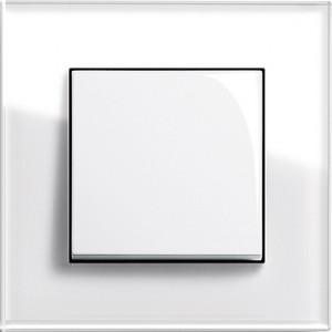 Esprit sklo bílá/ bílá lesklá