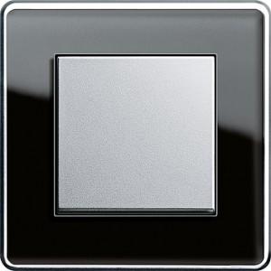Esprit sklo černá/ alu