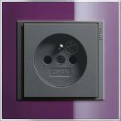 Event Klar lilkově fialová/ antracit, zásuvka s dětskou ochranou