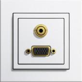 VGA + Miniklinke 3,5 mm