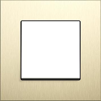 Gira Esprit hliník světle zlatá a nerez
