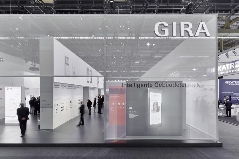 Novinky společnosti Gira představené na Light + Building 2016