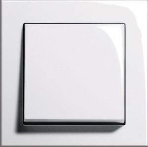 Gira E2 - čistě bílá lesklá