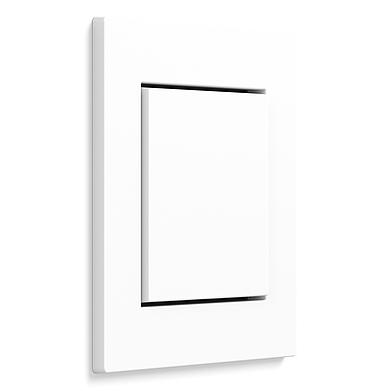 E2 – plochá instalace – bílá lesklá