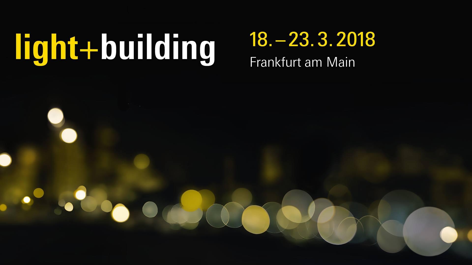 Veletrh Light+Building 2018 – vstupenka zdarma
